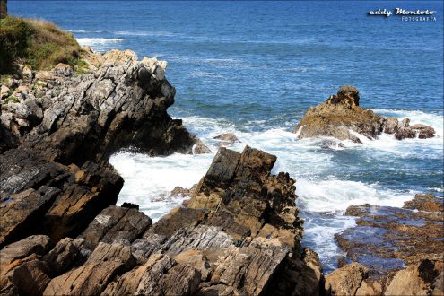 El mar Cantábrico cantando su alegría